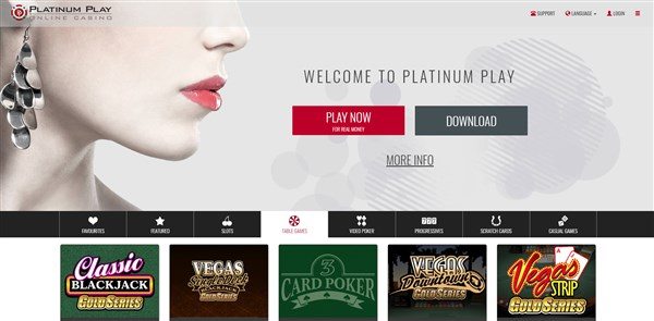 Platinum Play Casino Roulette Review
